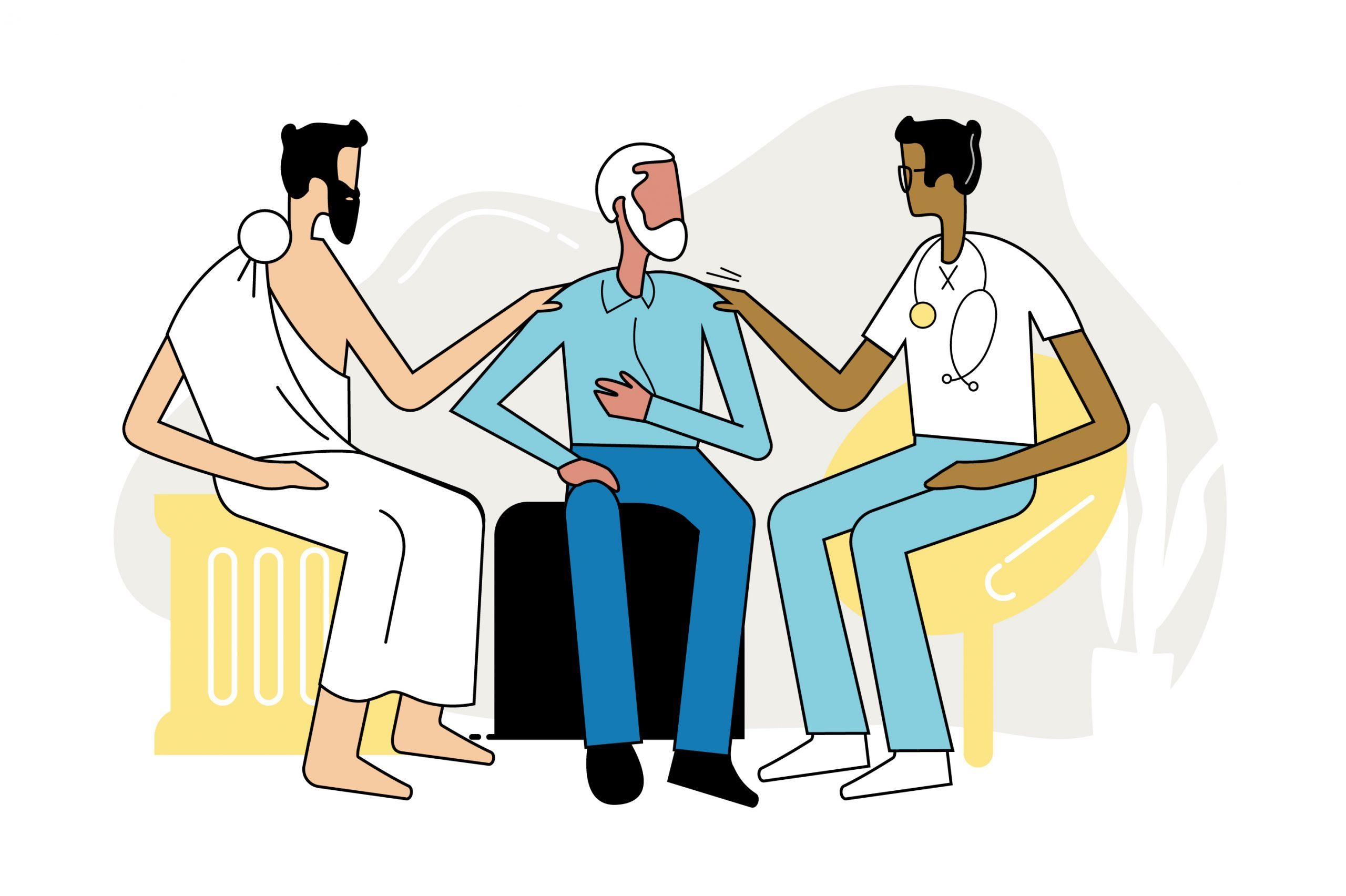 UME Hippocratic Oath Illustration