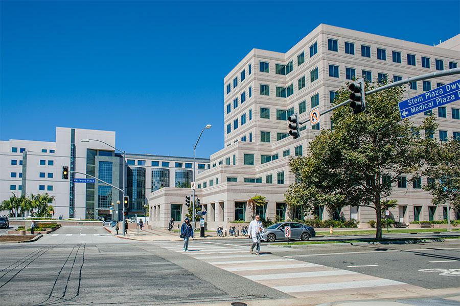UCLA hospital building