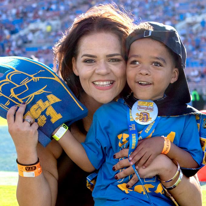 Jackson Verner UCLA Kid Captain